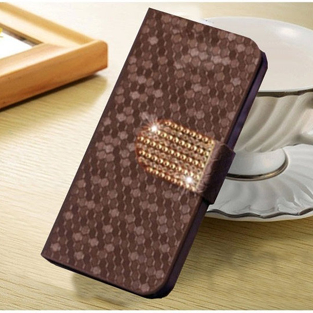 fashion case for HTC Droid DNA X920e cove original flip book style pu leather mobile phone pouch protective cover(China (Mainland))
