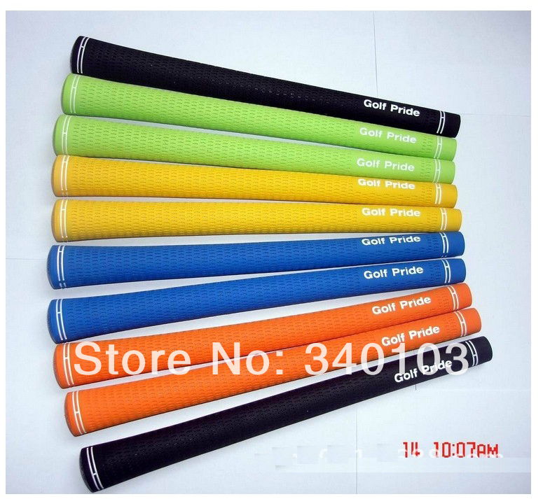 Free shipping DHL Golf clubs Grips golf club accessary The golf iron grip 5 colors Rubber Grip MIx color 25pcs/lot(China (Mainland))
