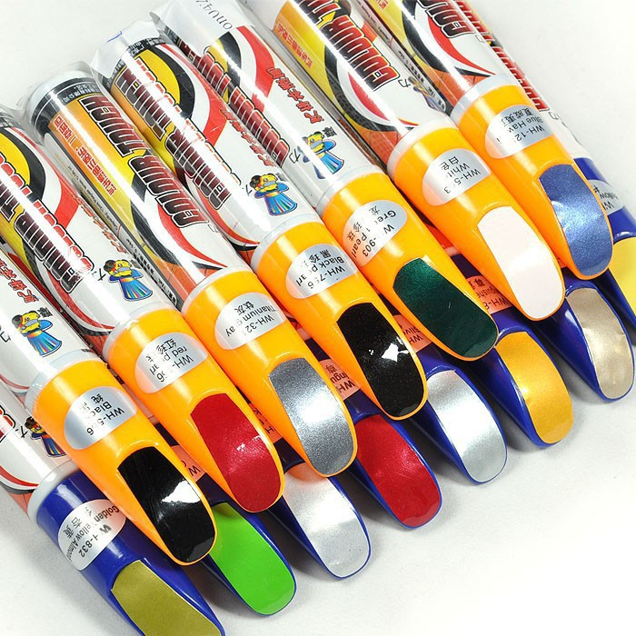 New 1Pcs Pro Mending Car Remover Scratch Repair Paint Pen Clear 39colors Choices For Hyundai VW Mazda Toyota Free Shipping(China (Mainland))