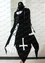 New 2016 Rozen maiden Suigintou Dress Black Gothic Lolita Cosplay Costume