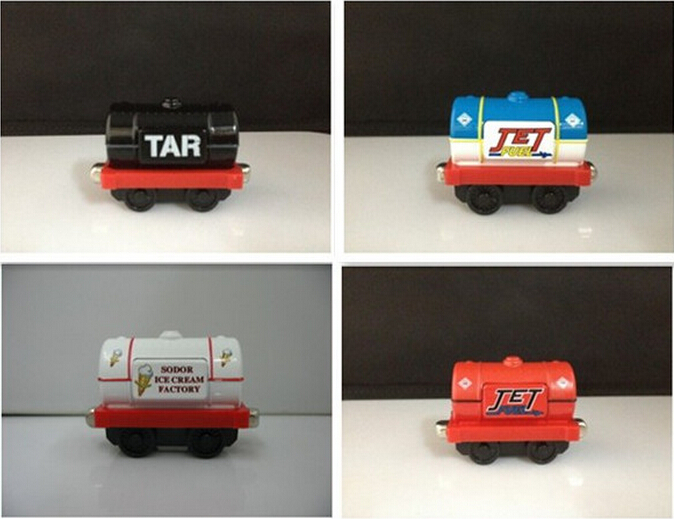 4 piece/set Thomas train magnetic alloy toy car cheap sale Thomas toys best gift for kids gift toys(China (Mainland))