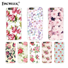 phone cases Slim shell fundas For Apple iphone 6 plus 6s plus Flowers Back Cover Case for iphone6 plus iphone plus case coque