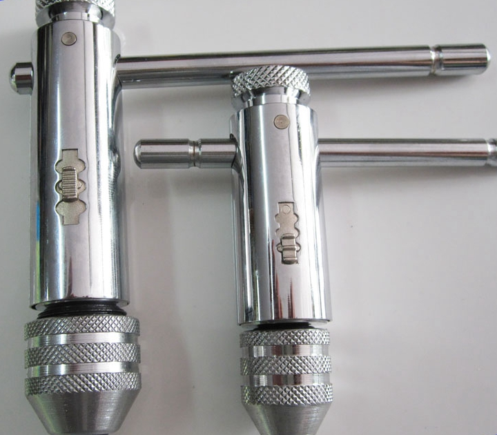 Multifunctional adjustable ratchet tap wrench T-wrench 8512 Reversible hinge wire tapping(China (Mainland))