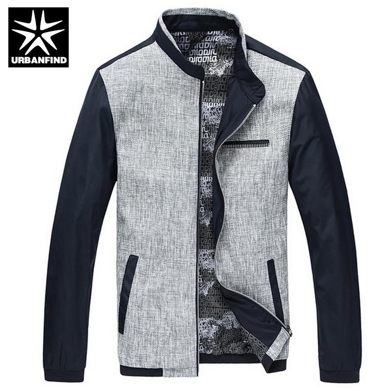 Patchwork Design Men Casual Silm Coats Big Size M-3XL New Arrival Korean Style Good Quality Urban Men Fashion Jackets(China (Mainland))