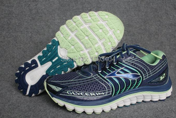 WOMAN latest popular New100% Brooks WOMen's Glycerin 12 (after 11) Running shoes Glycerin12 Free shipping free shipping(China (Mainland))