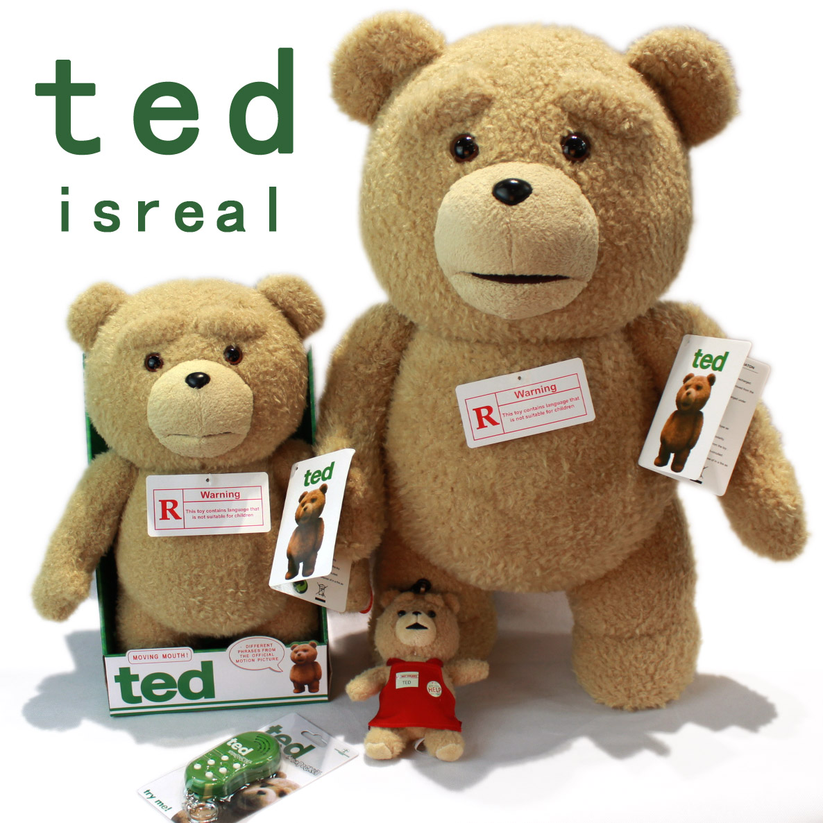 The United States of America genuine movie TED tactic bear plush doll it can talk mouth move 60CM cute baby a toy bear(China (Mainland))