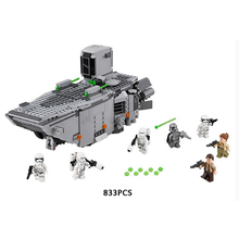 Star wars LEPIN 05003 First Order Transport ship assemblage building block Stormtrooper minifigures compatible with lego 75103
