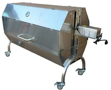 Freeshipping S S Auto Charcoal Bbq Grill Roasted Whole
