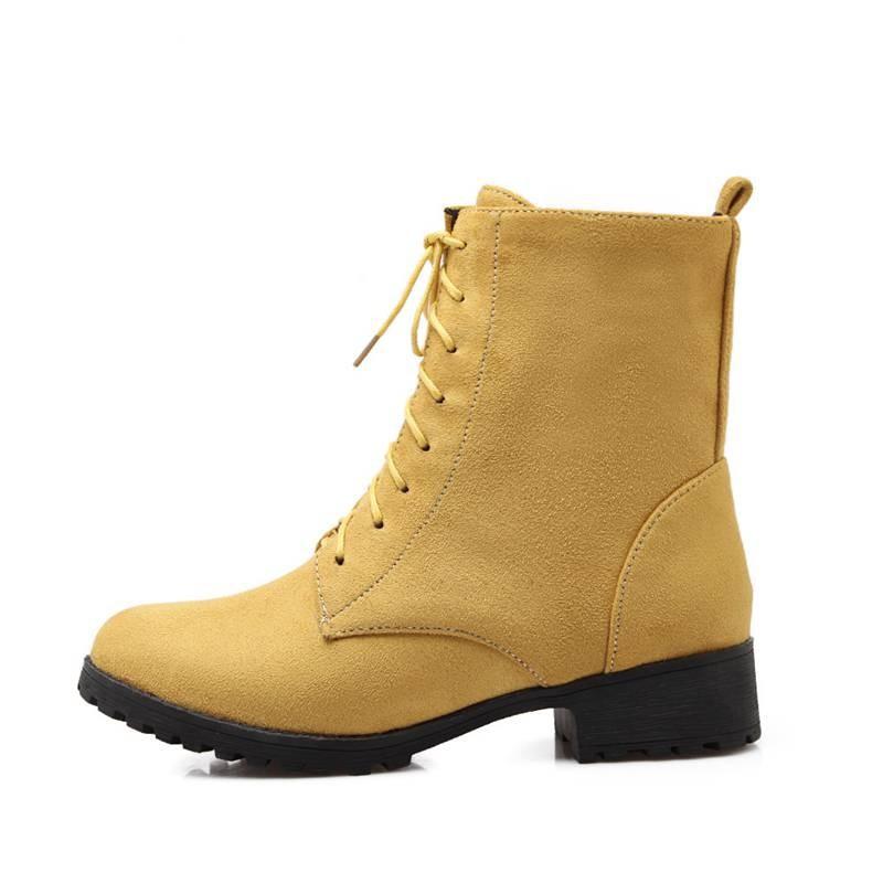 ซื้อ พลัสSize34-47 2015ใหม่เซ็กซี่ผู้หญิงมาร์ตินแข็ง5 Colorsออกแบบขี่บู๊ทส์ในช่วงฤดูหนาวที่อบอุ่นของผู้หญิงรองเท้าหิมะSBT2058