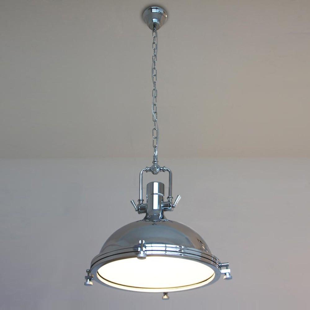 Купить Современное Ретро Промышленного Чердак Подвесной Светильник Винсент Хром Страна Сельский Подвесной Светильник Светильник Освещение E27 Для Кафе Салон
