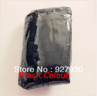 Hot sale Black 1kg super light clay Air dry Super Light Clay/Super Dough,big 1kg/pack for kindergarten training or home play(China (Mainland))