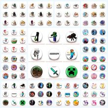 45pcs Random Mixed inside out Naruto Minions Star war Party Supplies bags Accessories Buttons pins badges Pinbacks round brooch(China (Mainland))
