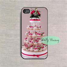 fairy cake wedding tower patty case for iPhone 4s 5s SE 5c 6s Plus iPod 4 5 6 Samsung s3 s4 s5 mini s6 s7 edge plus Note 2 3 4 5(China (Mainland))