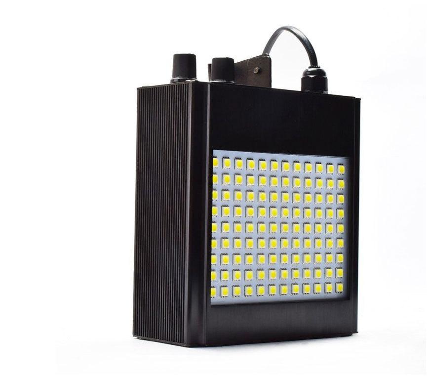 108pcs 20W LED Multicolor Lighting Sound Active Auto Run Strobe Stage Light For Sale DJ Club Party Performance EU Plug(China (Mainland))