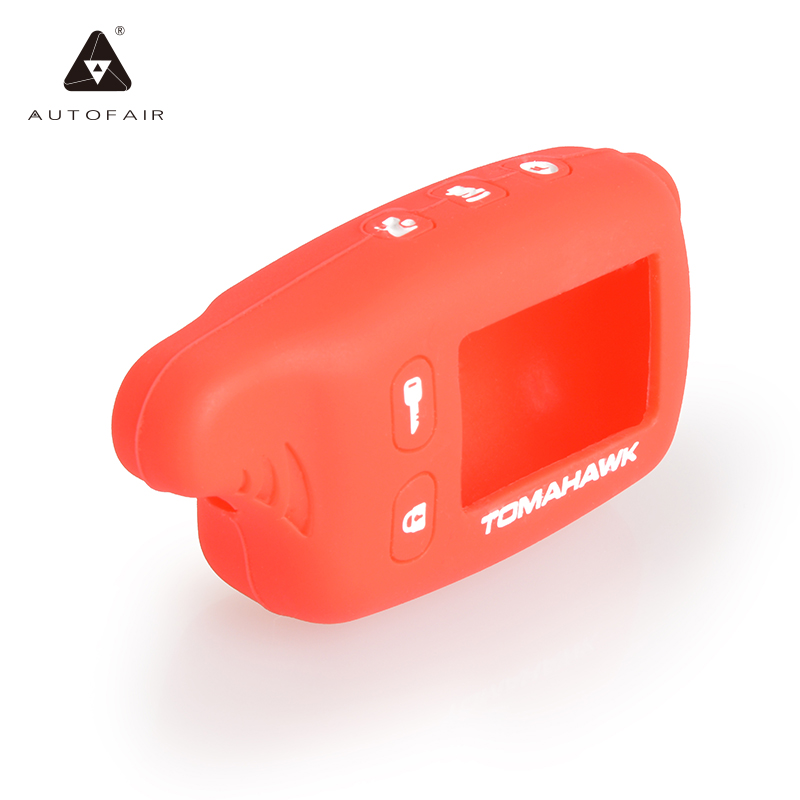 ON SALE Tomahawk TW9010 silicone case for russian version two way car alarm system Tomahawk TW9010/TW9020/TW7010 Free shipping(China (Mainland))