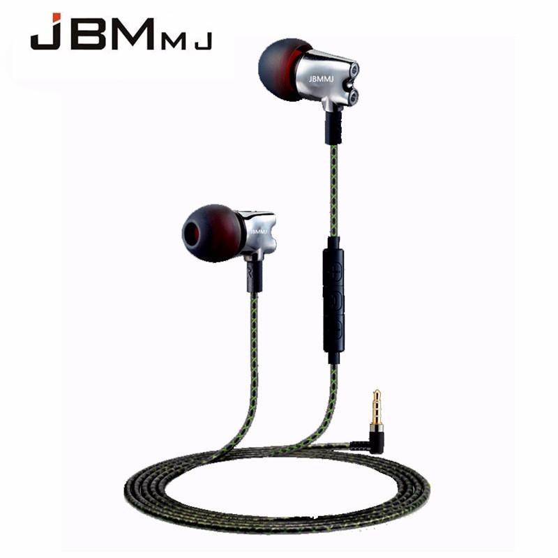 2016 New Original JBMMJ S800 In Ear Headphones High Quality Metal With Microphone In-ear Earphone HiFi Headset IE800 Style