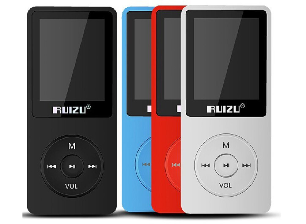 New 2016 Latest Ultrathin 8GB MP3 Player with 1.8 Inch Screen can play 80h, Original RUIZU X02 Plus With FM,E-Book,Clock,Data(China (Mainland))