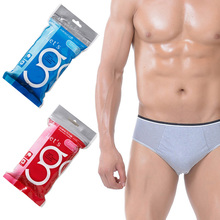 Disposable Underwear For Women Men 5 Pieces/Lot Travel Tourism Business Trip Physiological Period Pure 100% Cotton Briefs(China (Mainland))