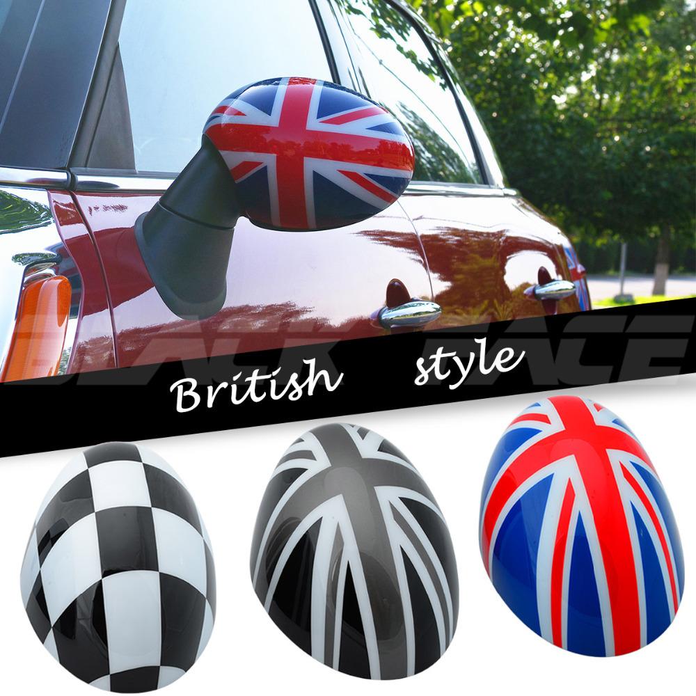 MINI Union Jack Mirror mirror cover cooper clubman countryman F56 F55 car mirror Decorative British mini cooper mirror cover