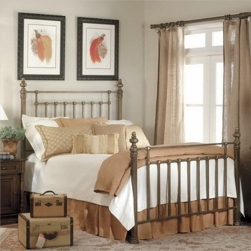 American classic wrought iron beds fashion bed deluxe for American classic bedroom