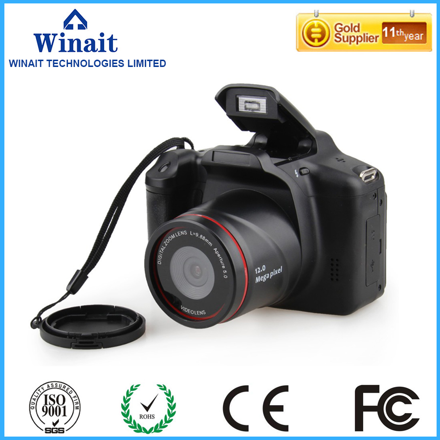 WINAIT 15mp Dslr similar digital camera with 4x digital zoom camera free shipping(China (Mainland))