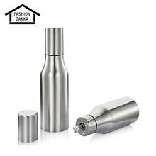New 1000ML Stainless Steel Oil Dispenser Leak-Proof Oiler Spice Jar Oil Bottle Kitchen Supplies Creative Cruet Olive Oil Bottle(China (Mainland))