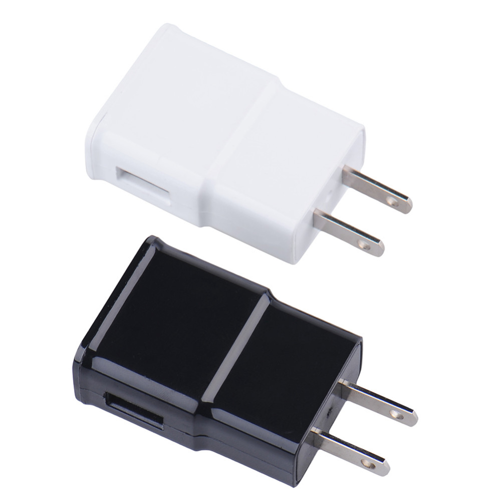 2A US Plug Wall Charger Adapter for Iphone 5 6 6s Home Travel Convenient Phone Charger for Samsung Xiaomi 2 Colors(Black, White)