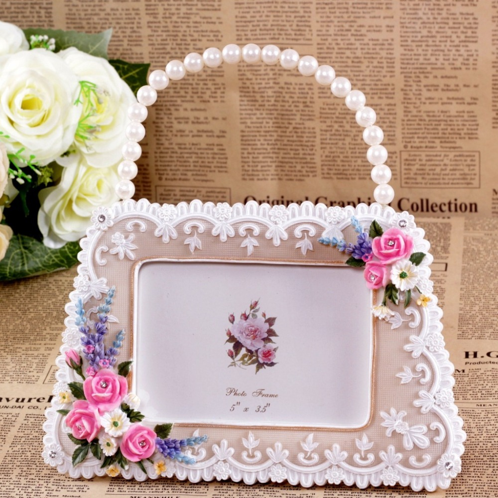 Ladybag Design Photo Frame Retro Style Resin Photo Frame High Quality Picture Frame Wedding Decor Hot Selling(China (Mainland))