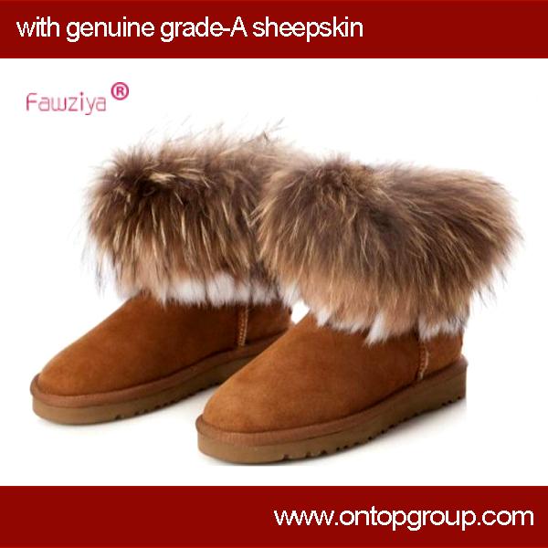 genuine sheepskin boots 2014
