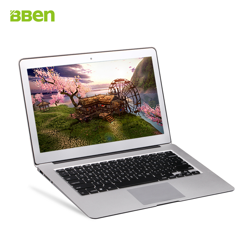 Bben 2G RAM 32G SSD Windows 7 system i7 13.3 inch fast running and full HD Screen laptop computer notebook for office travel