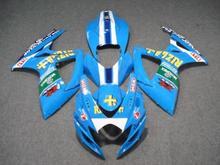 Buy Motorcycle Fairing kit SUZUKI GSXR600 750 K6 06 07 GSXR 600 GSXR 750 2006 2007 ABS fashion blue Fairings set+7gifts SC35 for $345.96 in AliExpress store