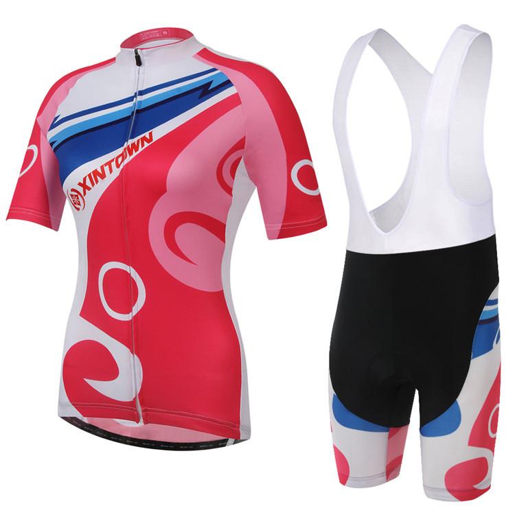 2015 Women Cycling Jersey Short Sleeve Quick Dry Sport Clothing Ropa Ciclismo DH MTB Trekking Mountain Bike Bicycle Bib Shorts(China (Mainland))