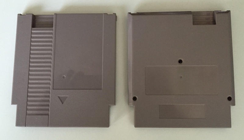 72 Pins Game Cartridge Replacement Plastic Shell For NES