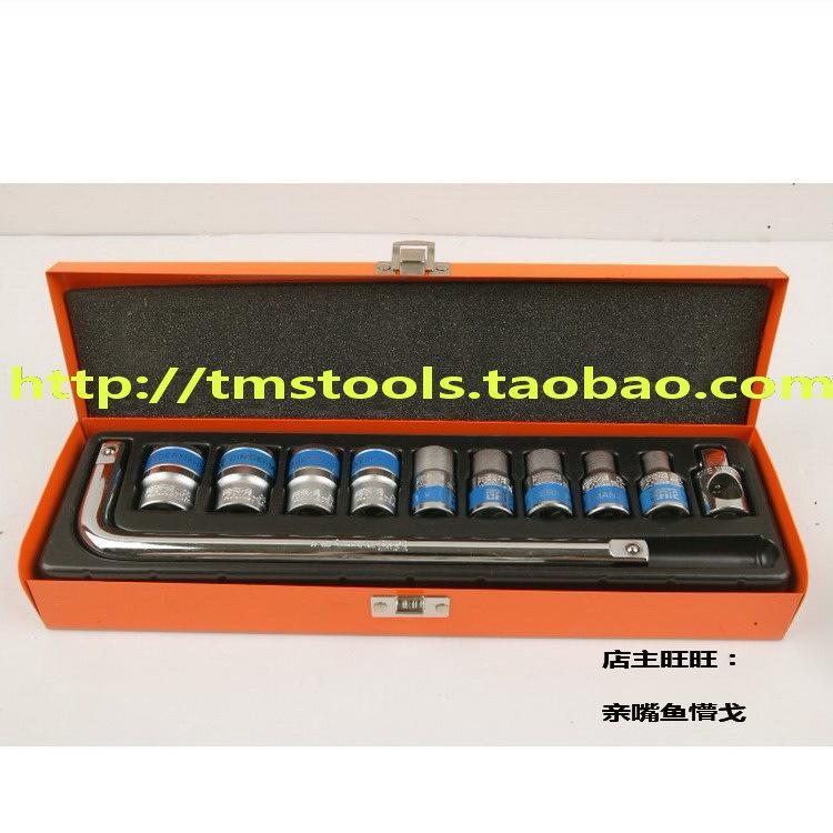 Здесь можно купить  Taiwanese socket set curved rod + sleeve special tools aftermarket car repair sleeve Set  Аппаратные средства