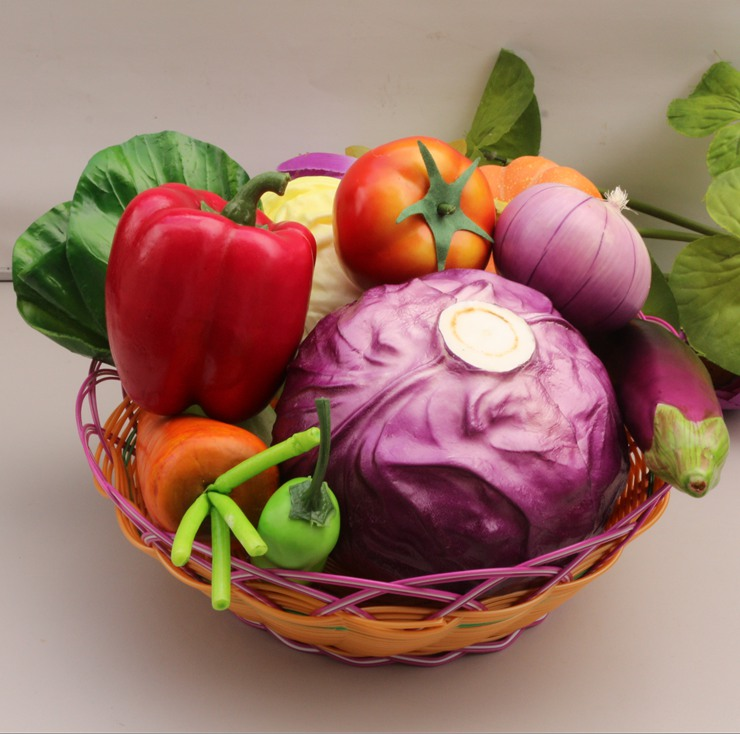 Kitchen Garden Model: Artificial Vegetable Model Kitchen Cabinet Decoration