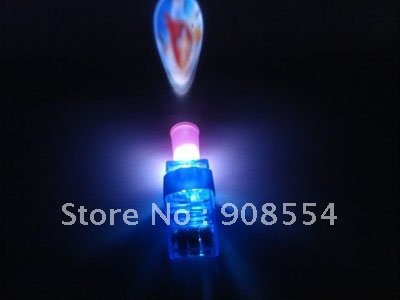 Free shipping via China Post Air Mail best gift blue Laser Finger Beams with projection for party 100pcs per lot(China (Mainland))