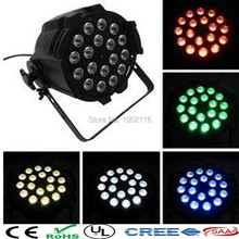Buy Cast Alumimum LED Par Light 18x12W RGBW 4in1 18x15w RGBWA 5in1 18x18w RGBWA+UV Stage Show Lights DMX led 64 bar for $119.00 in AliExpress store