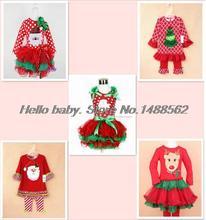 New 2014 Baby Girls Christmas Dresses Merry Christmas Dresses Kids  Casual girls Dress(China (Mainland))