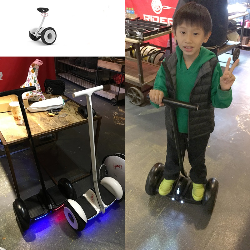 wool or steel handle extend lenthen for xiaomi Ninebot no.9 mini / parts accessories for self balance smart electric scooter  <br><br>Aliexpress