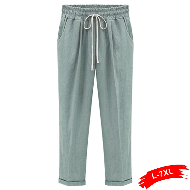 Popular Linen Pants Plus Size Women-Buy Cheap Linen Pants Plus ...