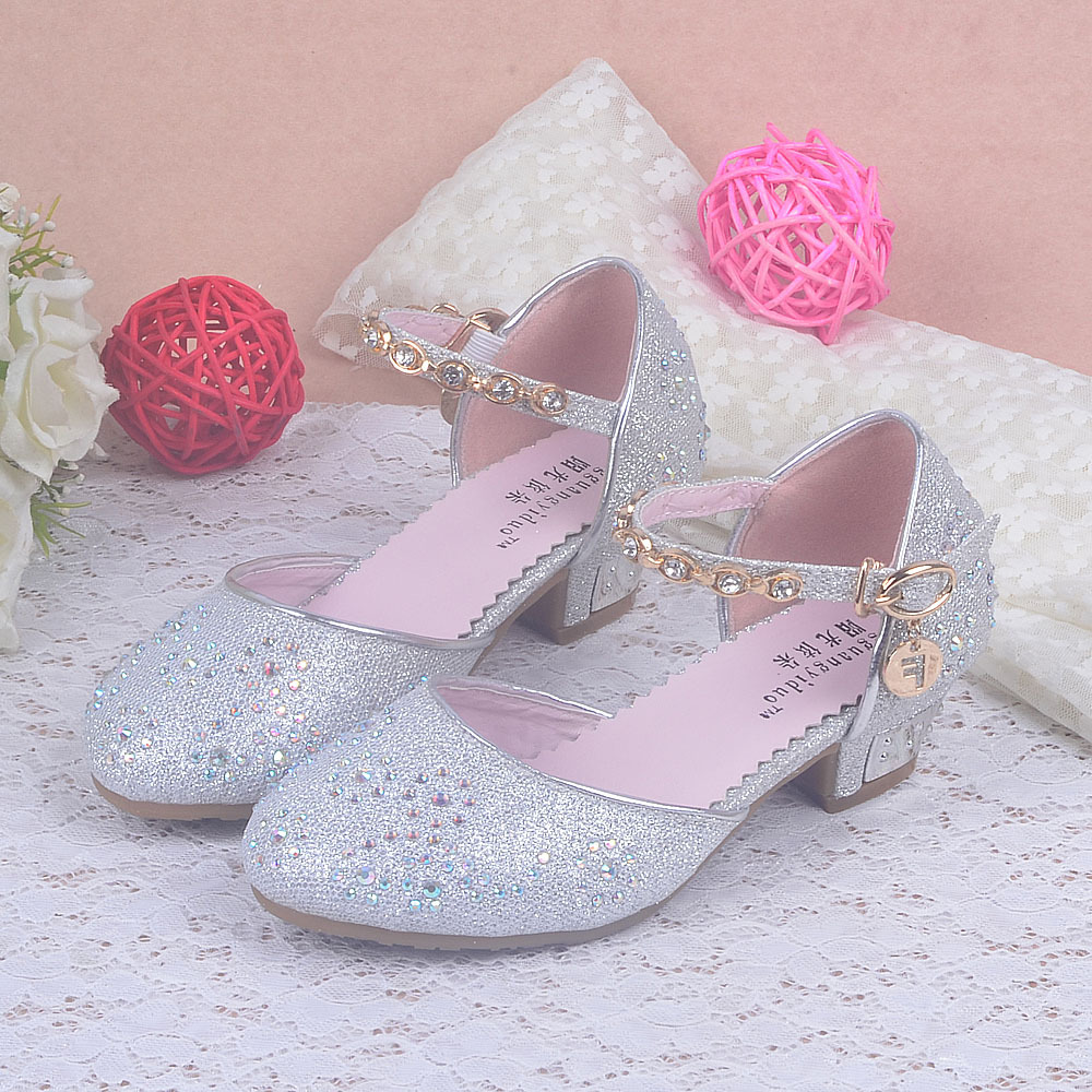 Pink And Silver High Heels