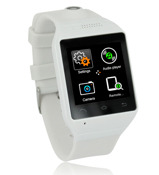 1.54'' Touch Screen Handsfree fashionable Android 4.0.4 Smart 3G smart Watch(China (Mainland))