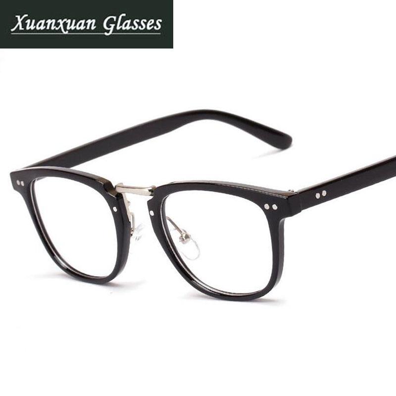 Fashion Square Eyeglass Frame Eyewear Men Women Plain ...