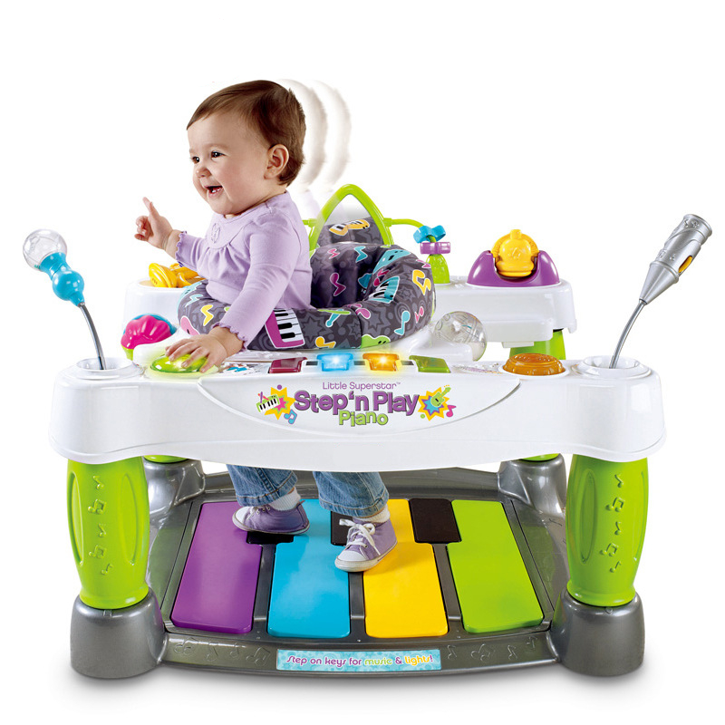 Baby Throne Little SuperStar Step Play Piano Baby Walker Baby Activity Jumper Activity Station Play Space