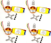LHM038 A2212 1000KV Brushless Motor + 30A ESC for Multicopter 450 X525 Quadcopter 4sets(China (Mainland))