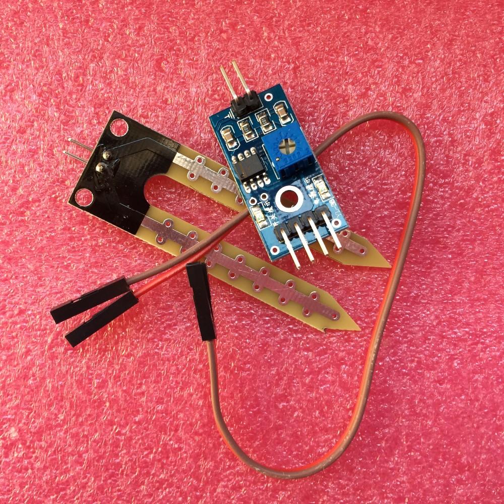 Smart Electronics Soil Moisture Hygrometer Detection Humidity Sensor Module For arduino Development Board DIY Robot Smart Car tu