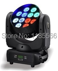 2014 hot selling stage lights 12pcs*10w 4in1 cree Led Moving Beam Light Dj Stage Hottest Products Lights novelty lighting(China (Mainland))