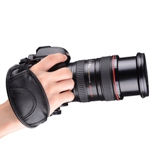 Buy Best Universal DSLR Camera Leather Hand Strap Grip Canon Nikon Sony Pentax Minolta Panasonic Olympus Kodak for $1.13 in AliExpress store