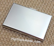 Part Gift of stainless steel mirror or matt finished credit card holder,name card holder(China (Mainland))