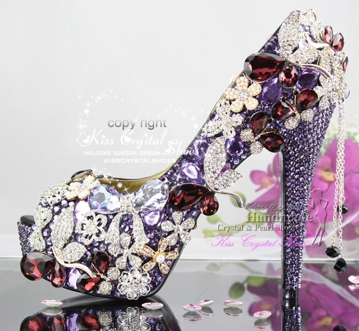 Purple Dress Shoes For Women Purple Wedding Shoes Women 39 s